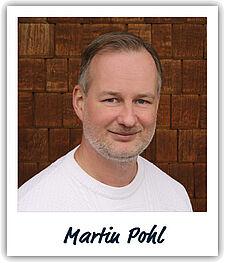 Unser Kollege Martin Pohl