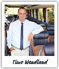 Unser Fahrer Timo Wendland