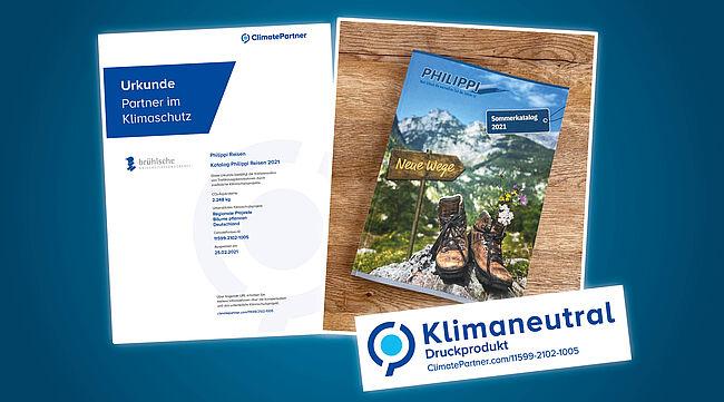 Klimaneutraler Katalog