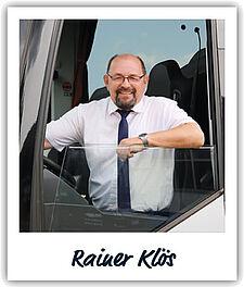 Unser Fahrer Rainer Klös