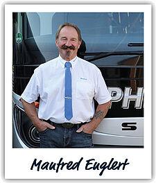 Unser Fahrer Manfred Englert