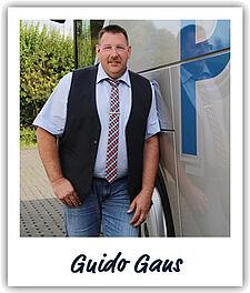 Unser Fahrer Guido Gans