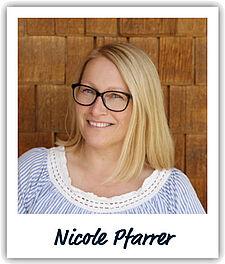 Unsere Kollegin Nicole Pfarrer