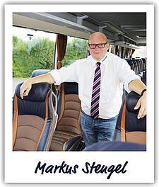 Unser Fahrer Markus Stengel