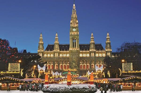 Wien im Advent mit Konzert im Stephansdom