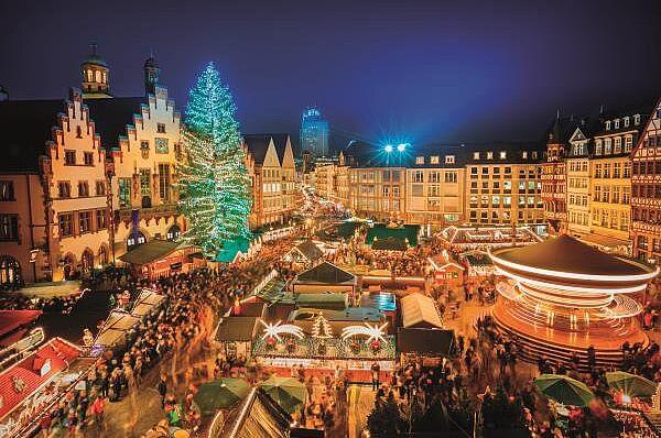 Frankfurter Weihnachtsmarkt mit Abendschifffahrt