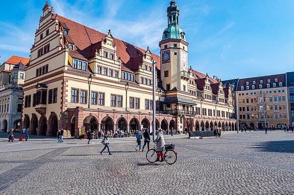 Leipzig - mit Buchmesse