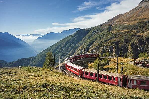 Glacier Express und Bernina Express